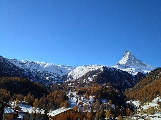 Hotel Matterhorn Focus: View from the Balcony