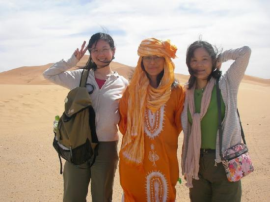 Riad Mamouche guests