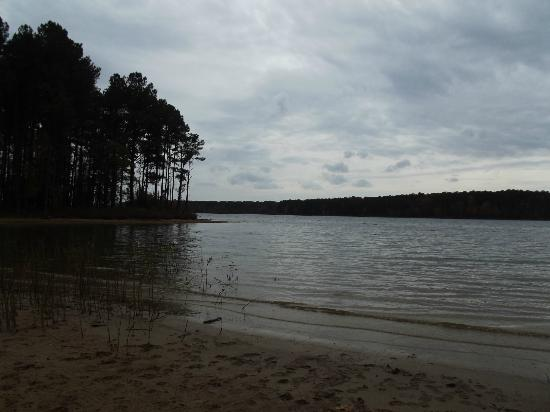 Jordan Lake State Recreation Area: Jordan Lake from Seaforth
