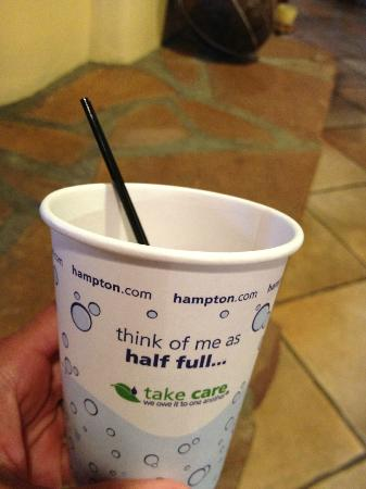 ‪‪Hampton Inn Kayenta‬: This Hampton is Not Half Full -- It's Overflowing with Goodness‬