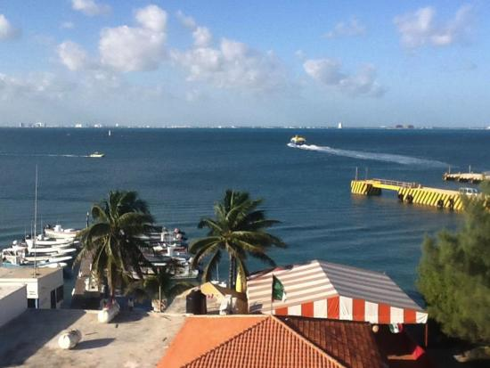 Hotel Bahia Chac Chi: This is the view from our room