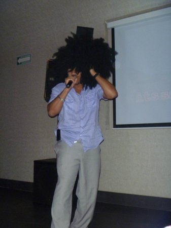 Secrets Silversands Riviera Cancun: The Karaoke King!