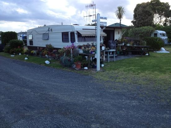 Napier Beach Kiwi Holiday Park and Motels: a long time guest