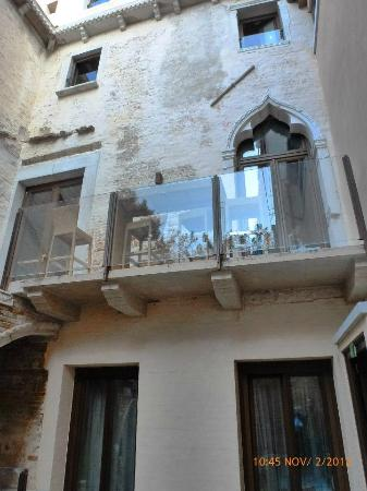 Hotel Ca' Zusto Venezia: courtyard