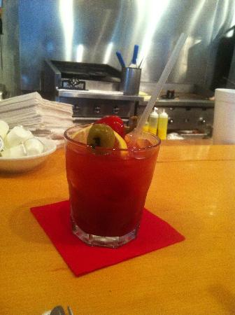 Palmetto Bay Sun Rise Cafe: Bloody MAry, delish