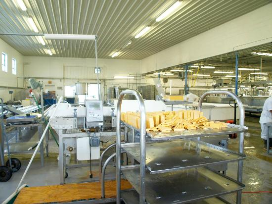 Tucumcari Mountain Cheese Factory: Everything looked clean