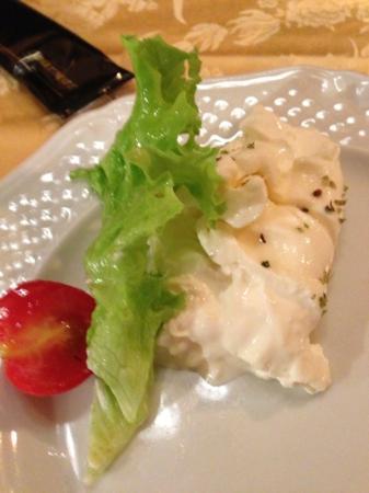Osteria della Purtascia : Burrata