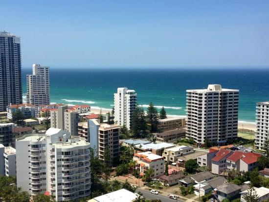 Crowne Plaza Surfers Paradise: view from the Balcony!