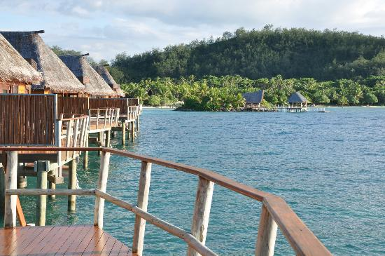 Likuliku Lagoon Resort: High Tide reef from room