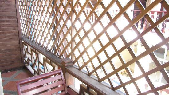 Inthira Vang Vieng: balcony view