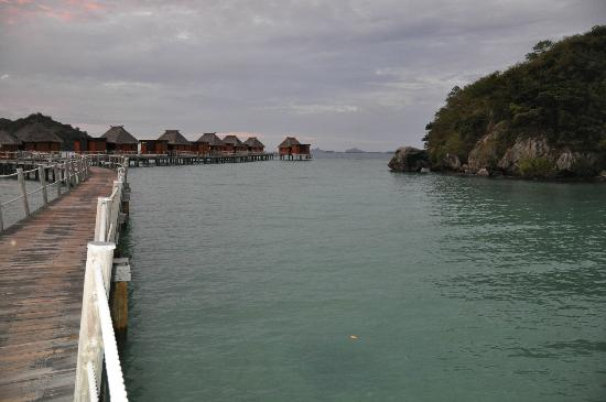 Likuliku Lagoon Resort: High tide lagoon