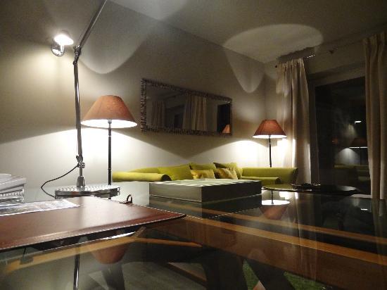 Le Prieure Hotel Restaurant : Schönes Design