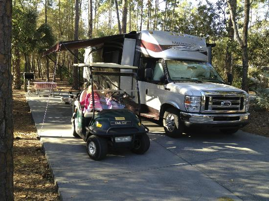 The Campsites at Disney's Fort Wilderness Resort: Premium site