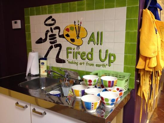 Alpharetta, GA: cleaning station