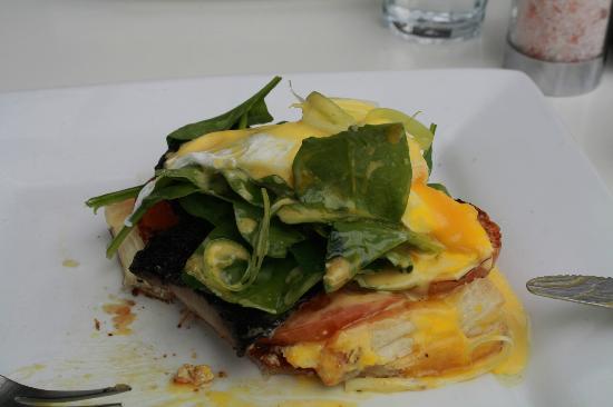 Lime Caffeteria: Vegeterian Tart - lush