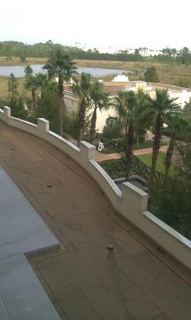 Las Palmeras, a Hilton Grand Vacations Club: View from balcony to the left