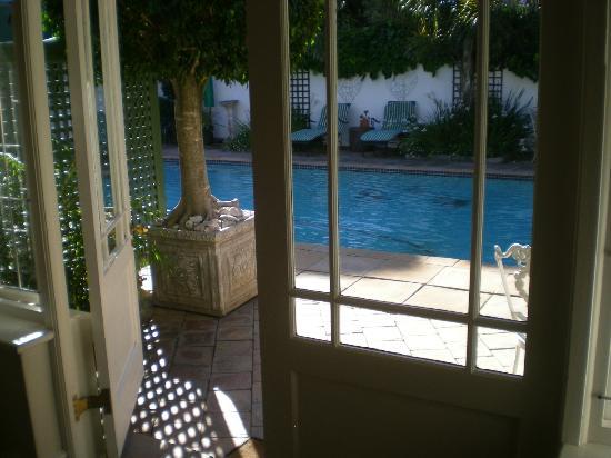Carslogie House: Uitzicht vanuit onze kamer