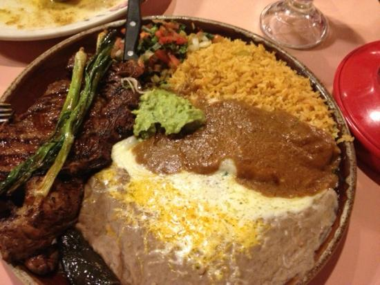 El Rodeo Mexican Restaurant: steak a la Tampaquena