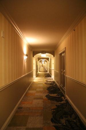 Venetian Resort Hotel Casino: pasillo suites