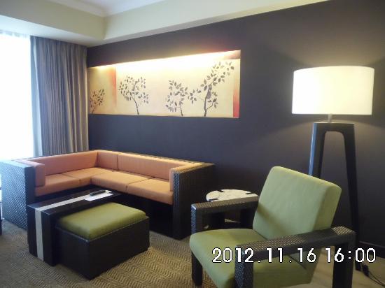 The Bellevue Resort Bohol: living room