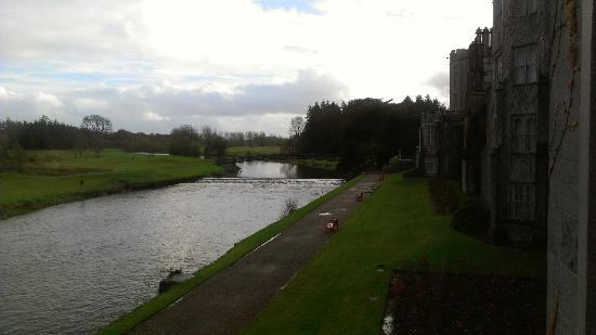 Adare Manor Hotel & Golf Resort: view south from room 217