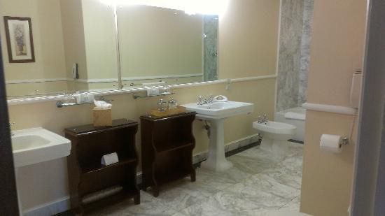 Adare Manor: rm 217 bath