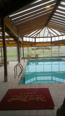 Adare Manor : Pool- steamroom and mini-gym adjacent