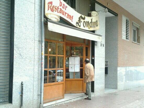 Esplugues de Llobregat, Spagna: Entrada del restaurante.