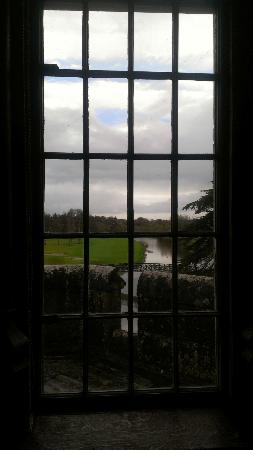 Adare Manor: view from banquet hall