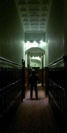 Adare Manor: the walk to our room. 4 long hallways after this. Loved it.