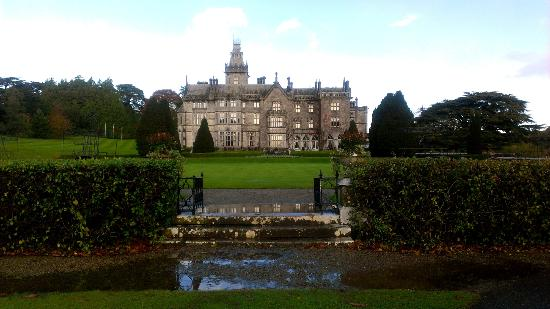 Adare Manor: No, seriously. I took this. It looks like this. For real.