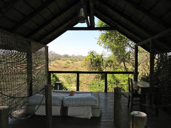 Jock Safari Lodge: View from our private balcony