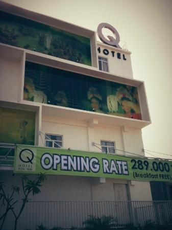 Q Hotel Bali: Eksterior