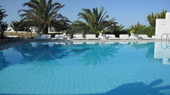 Geranium Residence: great pool and sunning area 