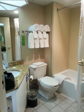 Hampton Inn Exton : Bathroom