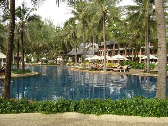 Katathani Phuket Beach Resort: One of 6 pools at resort