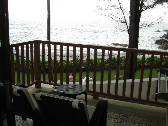 Katathani Phuket Beach Resort: view from balcony