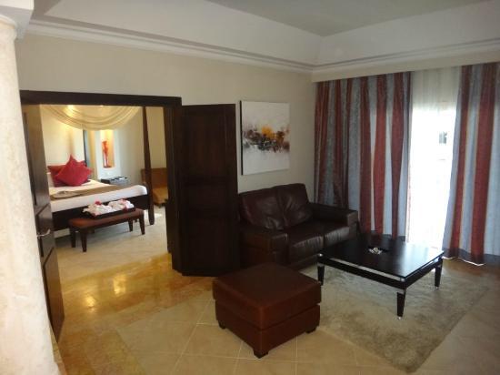 Majestic Elegance Punta Cana: Living area