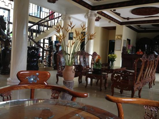 Phu Thinh Boutique Resort & Spa: hotel reception