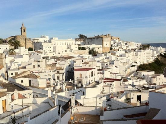 El Cobijo de Vejer: Surely this has to be one of the best balcony views in a hotel in Spain?!