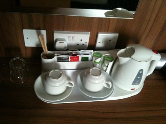 London City Hotel: menaje a disposición con recambio diario