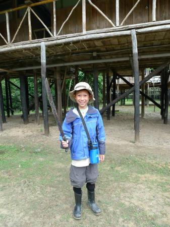 Amazonia Expeditions' Tahuayo Lodge: Here I come! 
