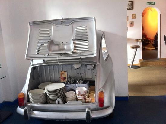 El Cobijo de Vejer: Breakfast car