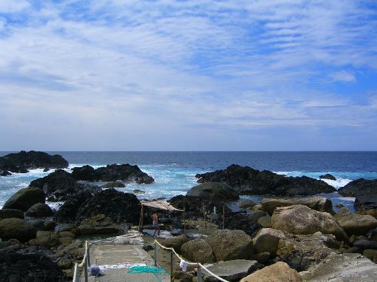 Hirauchi Kaichu Onsen: 風景