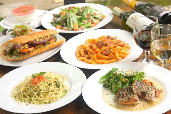 Fiore Citta: salad,pasta