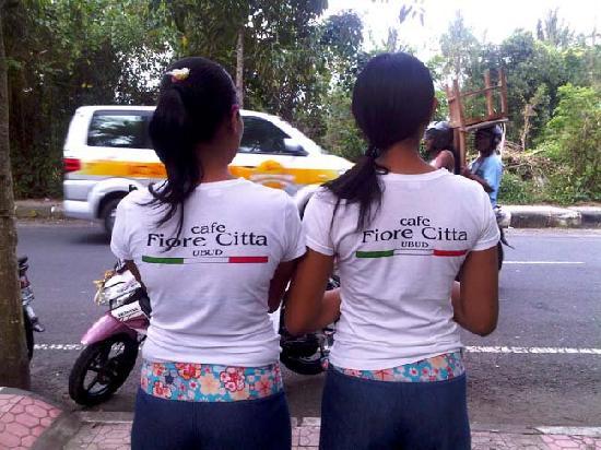 Fiore Citta: nice Balinese staff
