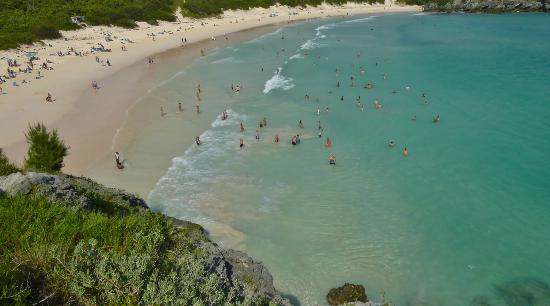 Horseshoe Bay Beach: Panoramic view...