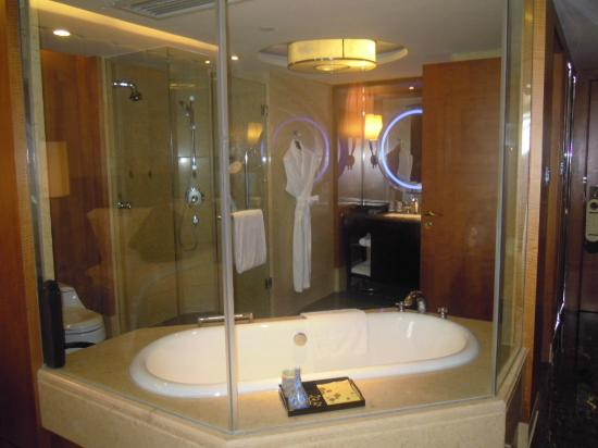InterContinental Century City Hotel Chengdu: Bath area