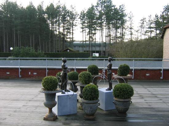 Hotel Stiemerheide: Deck
