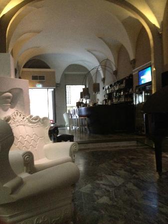 Borghese Palace Art Hotel: Pretty lobby